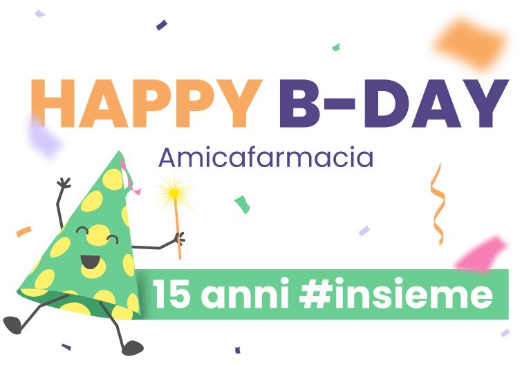 Buon compleanno Amicafarmacia #15ANNIinsieme